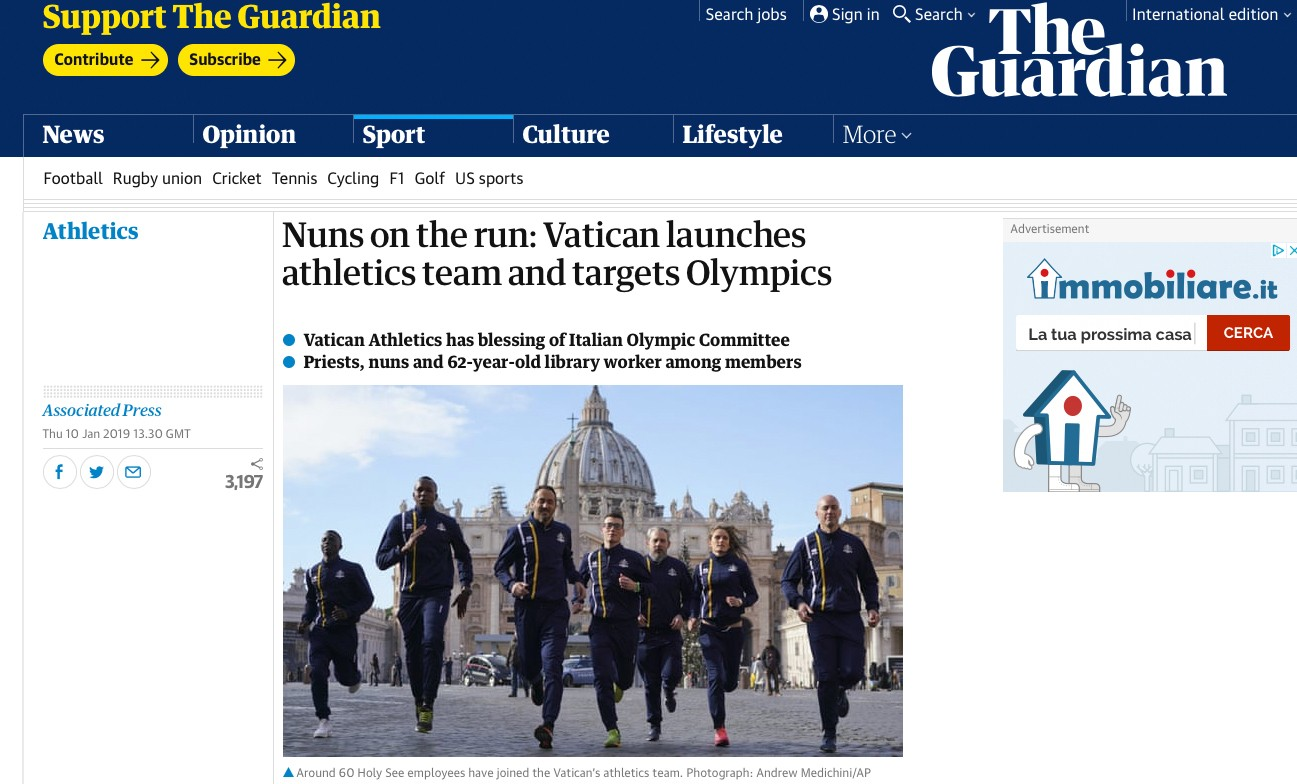 The Guardian - 10 Gennaio 2019