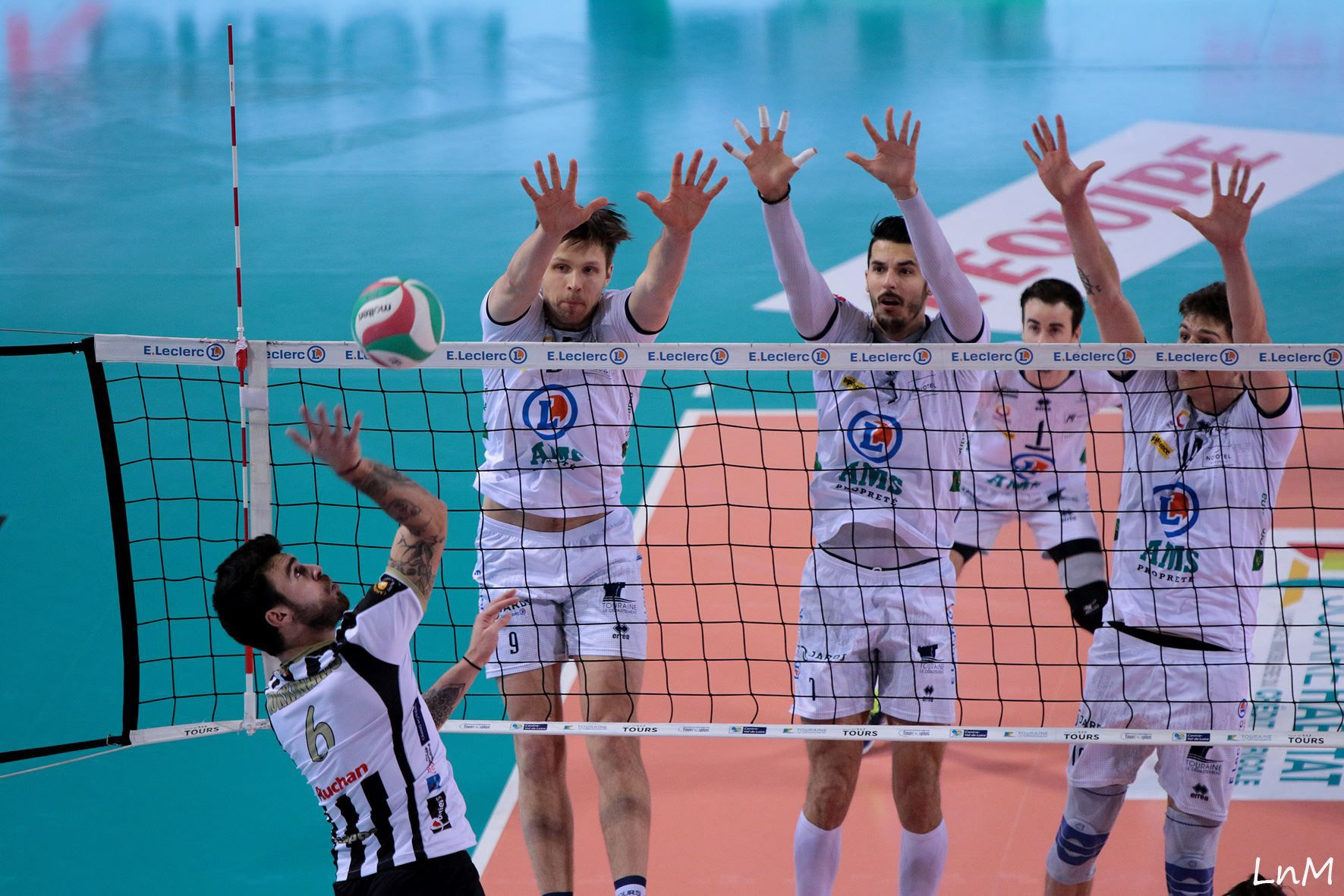 Tours e Chaumont Volley in testa alla classifica di League 1!