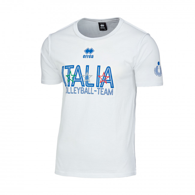 NAZ. ITALIA VOLLEY T-SHIRT ITALIA MC AD