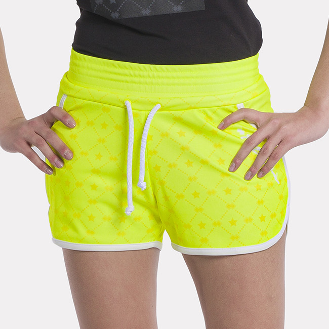 PANTA ESSENTIAL SS21 WOMAN  STARS AD SAFETY_YELLOW-1 - REPUBLIC