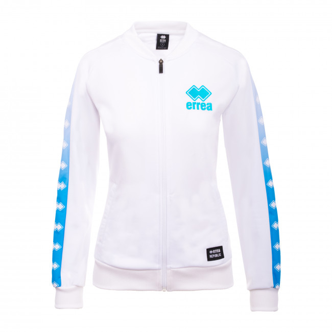 SPORT INSPIRED SS20 WOMAN PRINT BOMBER 120A AD BIANCO - REPUBLIC