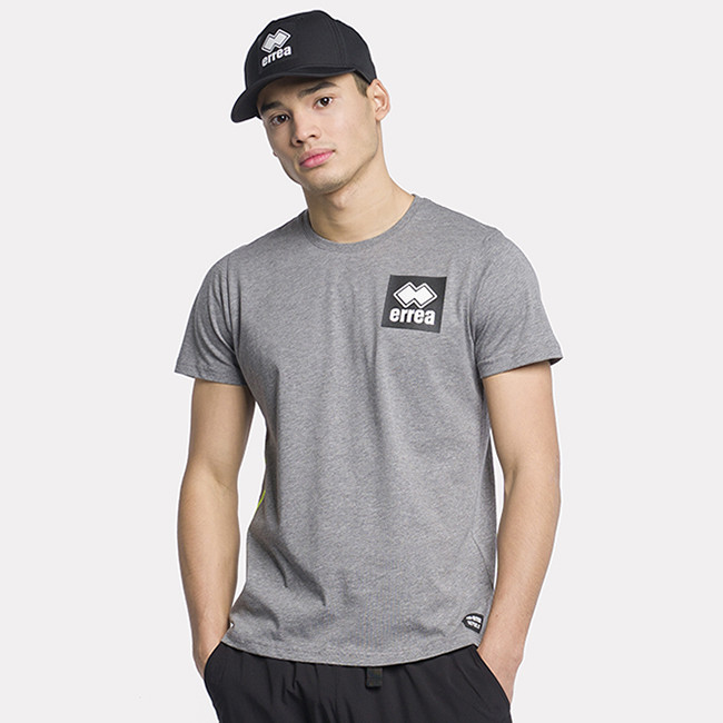 T-SHIRT BLACK BOX SS21 MAN TEE MC AD SPORT MELANGE-2 - REPUBLIC